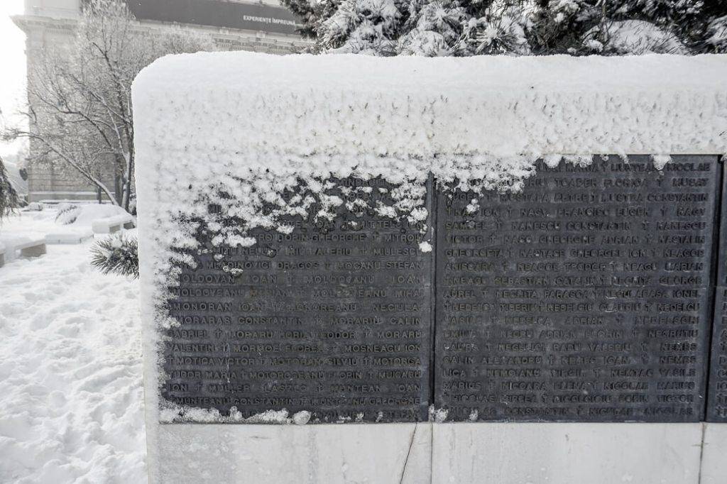 Monument voor de gevallen van de revolutie | Boekarest | Roemenië
