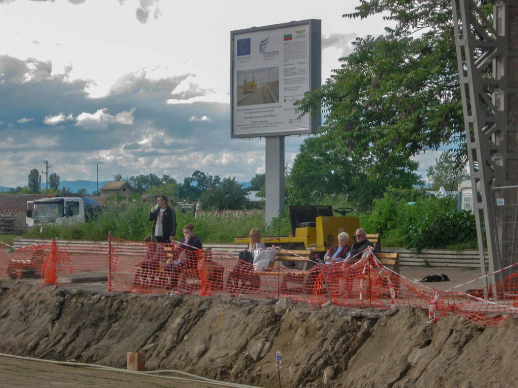 Werk aan het spoor 2014 | Bulgarije