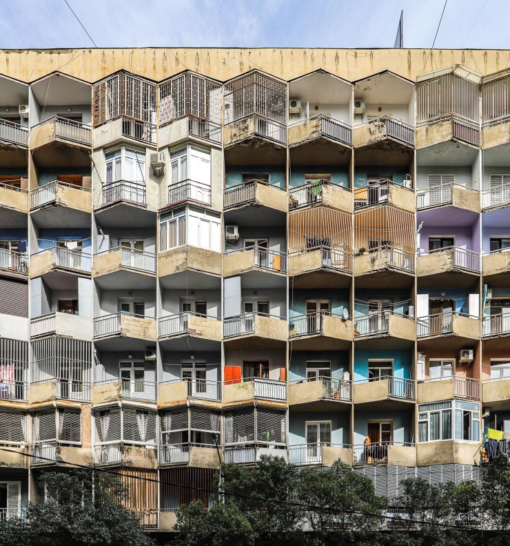 Flats Luarsab Sharasidze straat | Tbilisi | Georgië