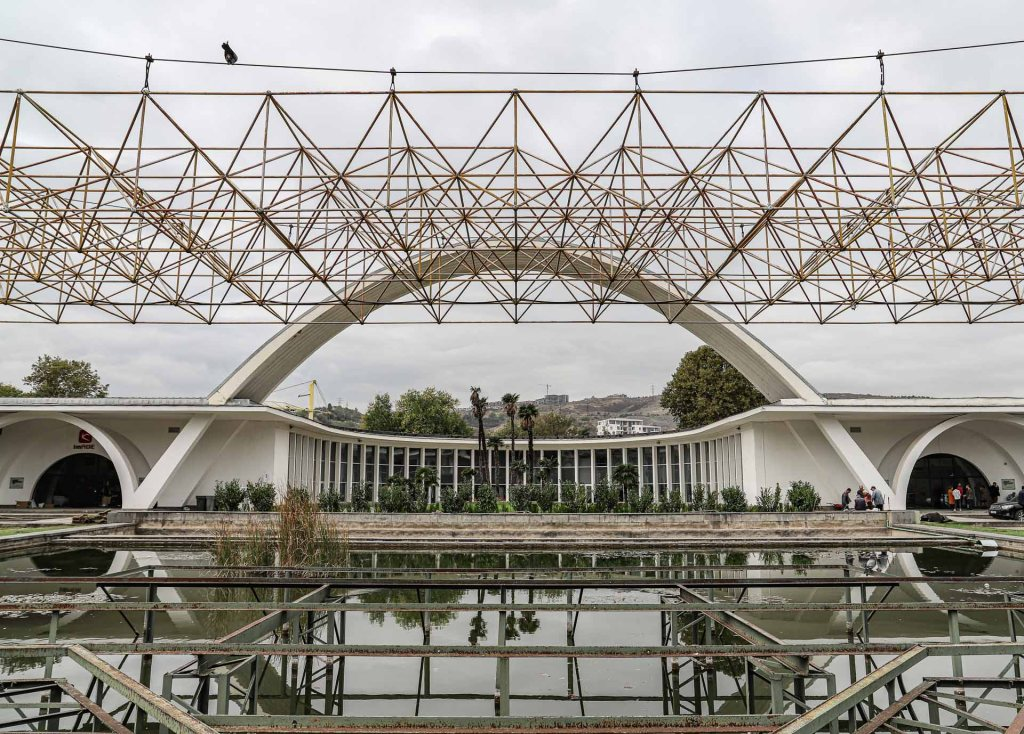 Hoofdgebouw Expo | Tbilisi | Georgië
