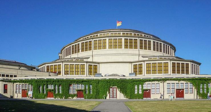 Foto van de Jahrhunderthalle | Wroclaw | Polen