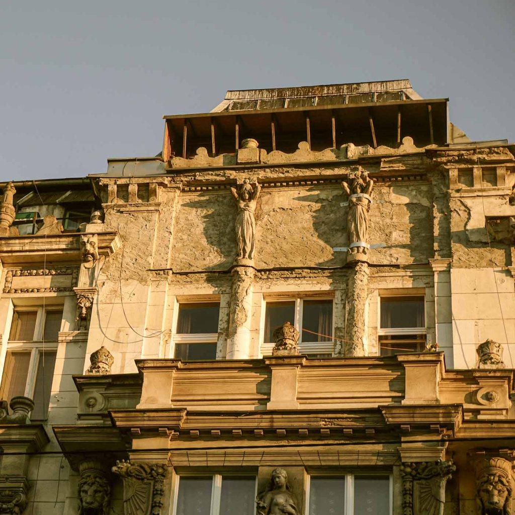 Vergane glorie Jugendstil | Wroclaw | Polen