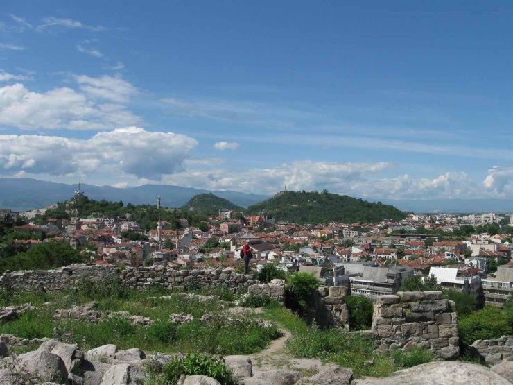 Uitzicht vanaf Nebet Tepe | Plovdiv | Bulgarije