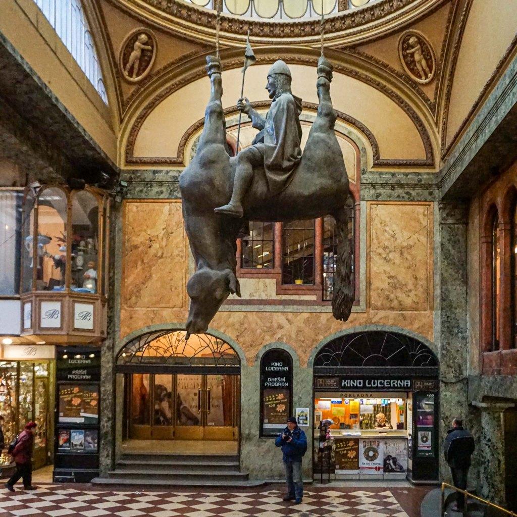 Het paard | David Černý | Praag | Tsjechië