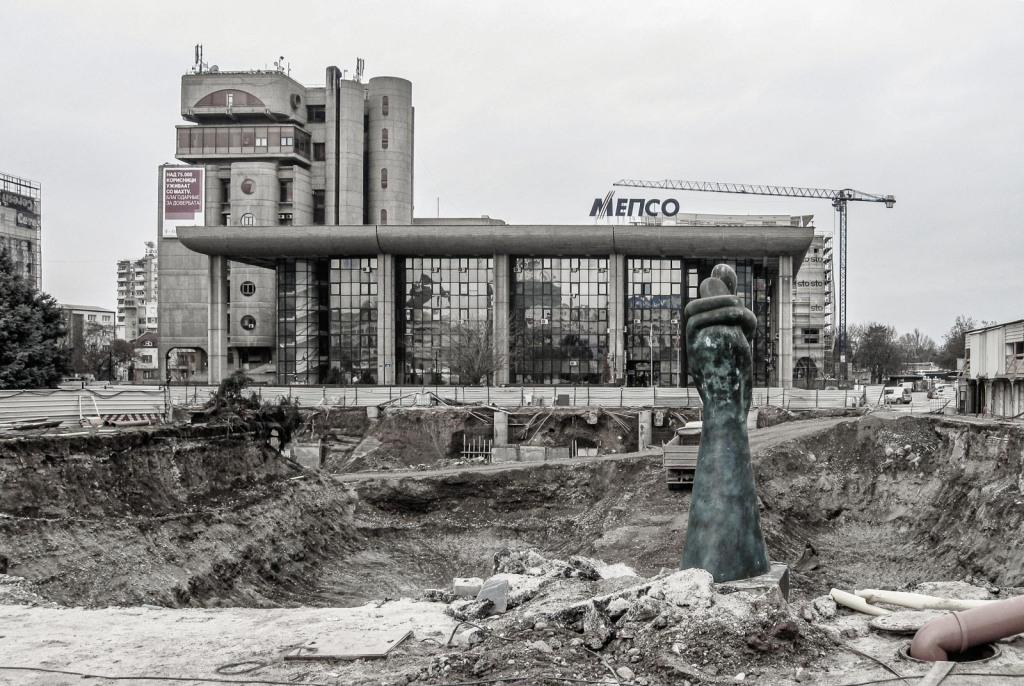 Hoofdpostkantoor | Skopje | Noord-Macedonië