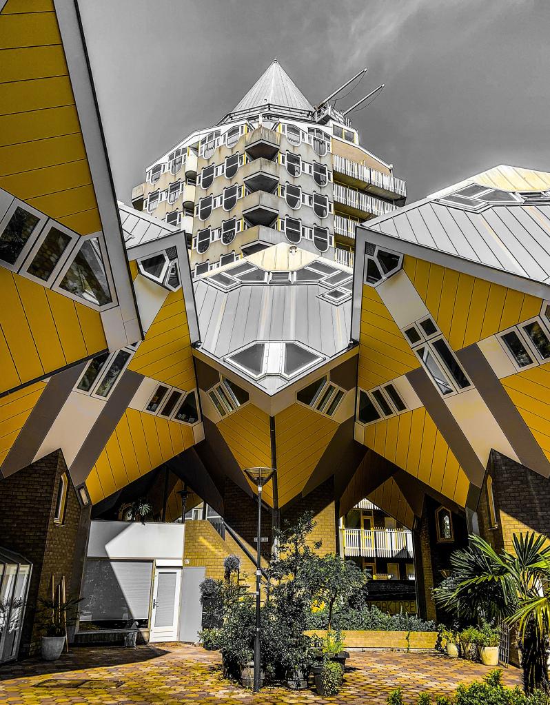 Kubuswoningen | Piet Blom | Rotterdam | Nederland