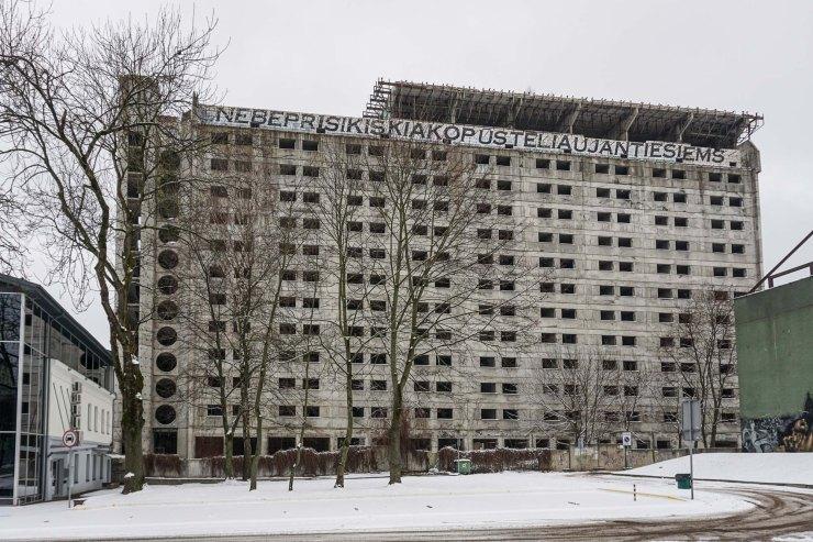 Hotel Britanika (niet afgebouwd) | Kaunas Litouwen