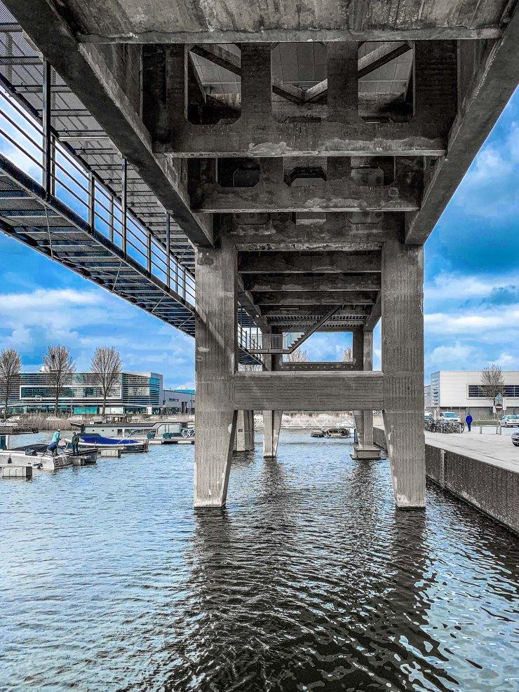 Kraanspoor   Amsterdam   Nederland
