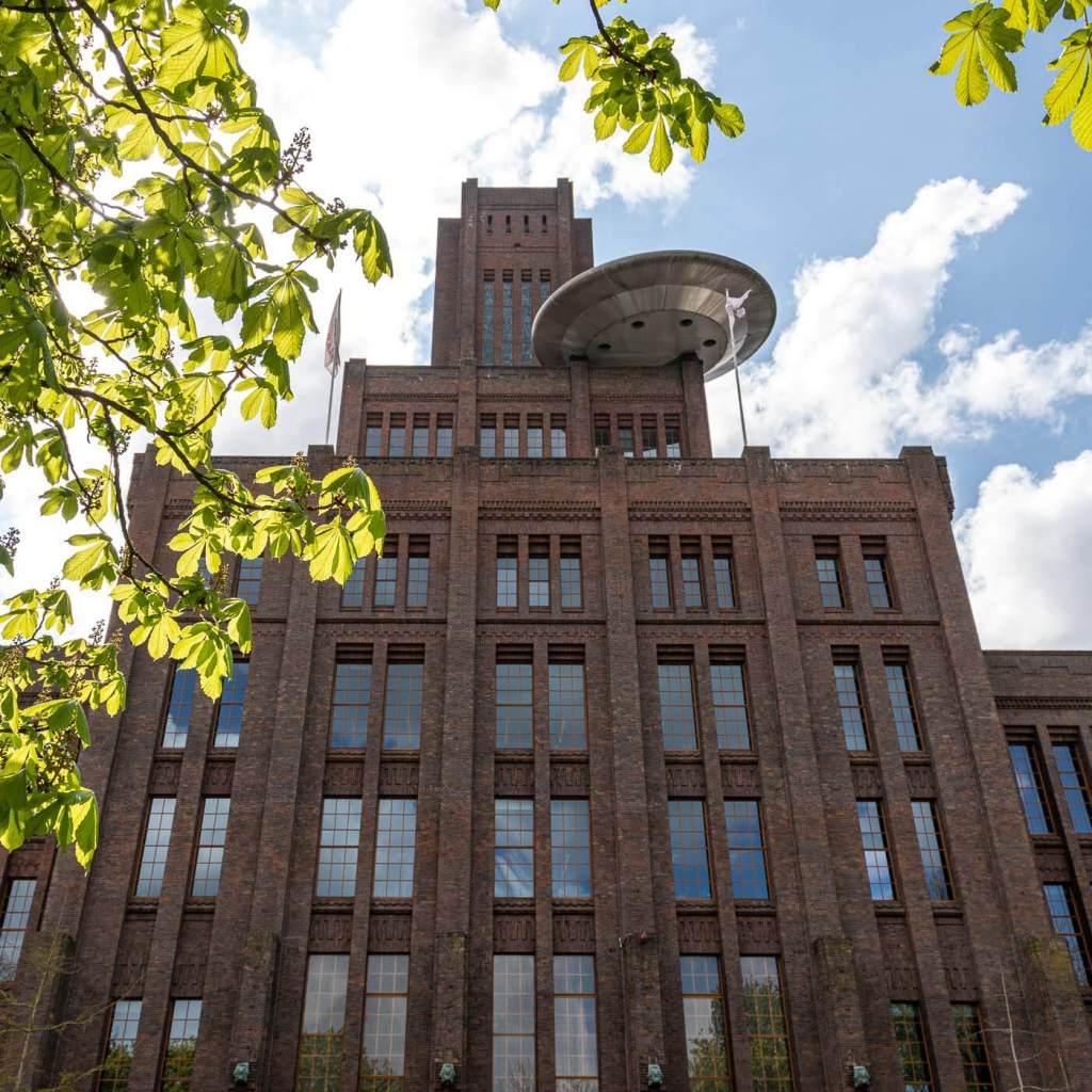 NS-gebouw (Inktpot) met UFO | Utrecht | Nederland