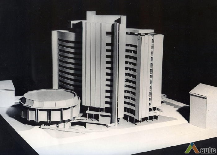 Eerste ontwerp Hotel Britanika | Kaunas | Litouwen