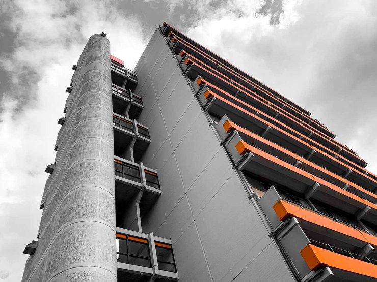 Studentencomplex Tuindorp-West   Utrecht   Nederland